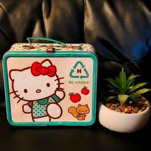 BOGO🌺Hello Kitty Go Green! Collectible Tin Box